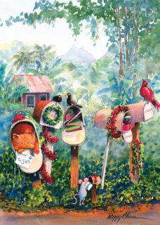 12 Hawaiian Holiday Card Hawaii Christmas Season Santa