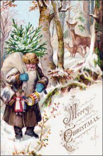 victorian greeting card by artist walter caspari sometimes known