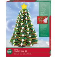 Wilton Christmas Cookie Tree Cutter Kit Holidays New 1555