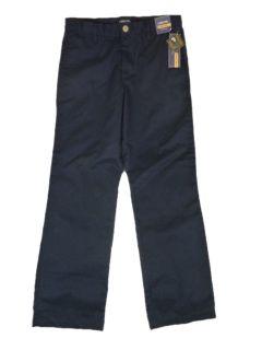 Boys 14 Cherokee Ulitmate Pant Wrinkle Stain Resistant Black Uniform