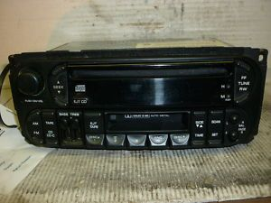 99 01 Jeep Grand Cherokee Radio CD Cassette P56038623AF CDC RBP
