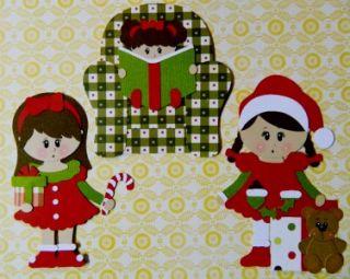 SYD Handmade Premade The Night Before Christmas Paper Piecing 4album
