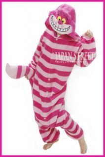 Halloween Costumes Cheshire Cat KIGURUMI Japan Party Pajamas Genuine