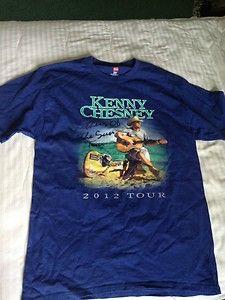 Brothers of The Sun Tour Kenny Chesney Tee Shirt 2012 Medium