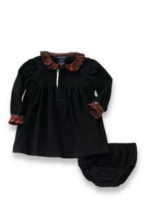 Ralph Lauren Long Sleeve Dress (Infant)
