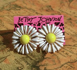 Johnson Drop glaze happiness chrysanthemum flower stud earrings E328