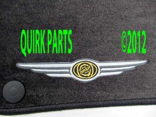 2004 2008 Chrysler Crossfire Front Floor Mats Set Dark Slate Mopar