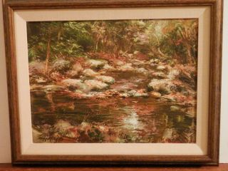 JOHN NAYLOR old Listed Artist Fine Art OIL PAINTING impressionist