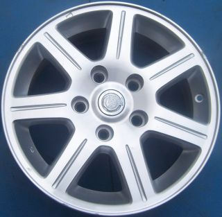 ONE 2008 2009 2010 CHRYSLER TOWN AND COUNTRY 16 FACTORY OEM WHEEL RIM