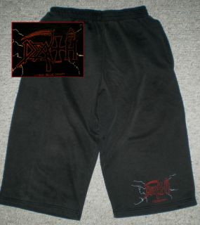 DEATH 1995 Jam Shorts Rare Chuck Schuldiner shirt deicide slayer cynic