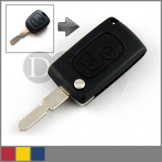 Folding Key Fob for Citroen Saxo Xsara Picasso C2 C3 Flip Switchblade