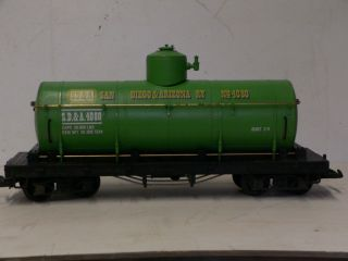 G Scale Model Train LGB Tanker Car