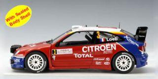 AutoArt 1:18 2004 Citroen XSARA WRC S.Loeb/D.Elena(Winner Rally Monte