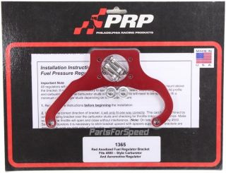 PRP 1365 Fuel Pressure Regulator Bracket Fits Aeromotive Dominator