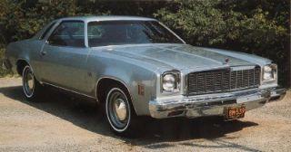 1974 74 Chevrolet Chevelle SS Malibu USA 630 Stereo Radio & CD Changer