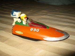 Vintage Chris Craft Hydrofoil Outboard Wooden Boat Model