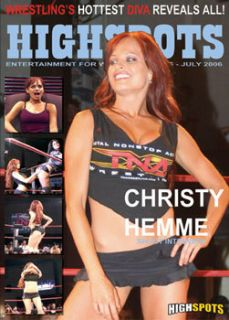 Christy Hemme Shoot Interview DVD TNA WWE Diva
