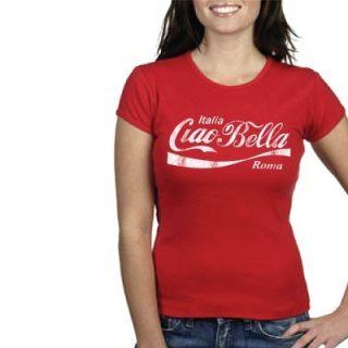 Ciao Bella T Shirt Rome Venice Italy Italia Woman New S