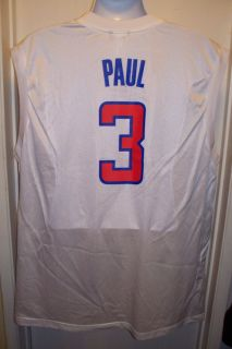 CHRIS PAUL LOS ANGELES CLIPPERS NEW NBA BASKETBALL JERSEY MENS XL