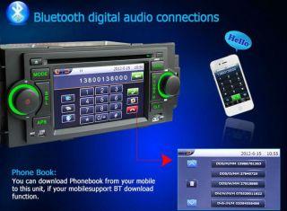 Chrysler 300C Jeep Dodge in Car DVD Player GPS SAT Nav Navigation iPod