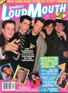 Teen Magazine   Issue # 12   NKOTB, Christian Slater, Bart Simpson etc
