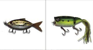 Moto Chug Fishing Bait Topwater Lures Green Frog Bass