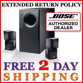 Bose Acoustimass 5 Series III Speaker System New Black 017817234184