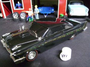 Model Car Built 1958 Plymouth Belvedere Custom Christine Lot 411