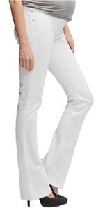 Citizens of Humanity Maternity Santorini White Kelly Bootcut Jeans Sz