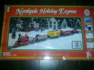Northpole Holiday Express Christmas Train Set