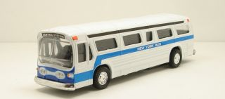 Classic New York City Metro Bus Diecast Model Toy 6 inch Size