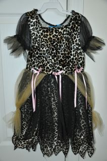 The Childrens Place TCP Halloween Leopard Princess Kitty Dress Costume