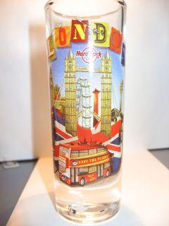 Hard Rock Cafe Shot Glass 2012 City London