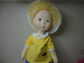 Madame Alexander Doll Christopher Robin 18 with Pooh Shirt