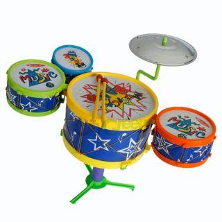 Pcs Drum Set Childrens Musical Instrument Toy