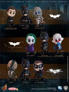 Hot Toys 2008 Batman The Dark Knight Joker + Batman (Bomb Gun ver