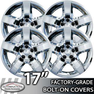 2007 2010 Pontiac G6 17 Chrome Bolt on Hubcaps Wheel Covers