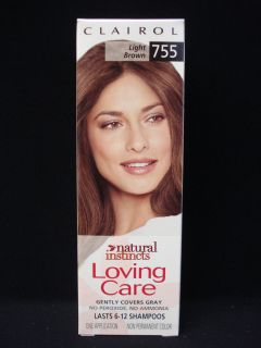 CLAIROL Natural Instincts Loving Care Non Permanent Hair Color # 755