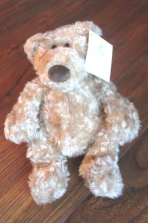 Pottery Barn Kids mini CLANCY teddy bear collectable by Gund stuffed