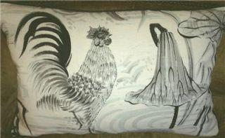 Clarence House Linen Fabric Custom Designer Toss Pillow New 1 Big