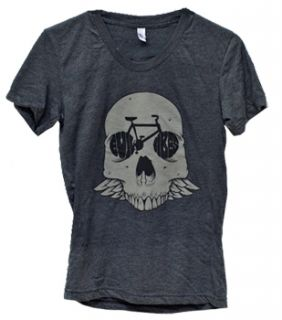 Evil Bikes Skulls Womens Tee