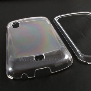 Crystal Clear Hard Case Snap On Cover For Samsung Stratosphere
