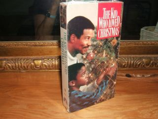 The Kid Who Loved Christmas VHS Cicely Tyson Michael Warren New
