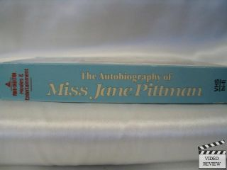 of Miss Jane Pittman VHS Cicely Tyson 086625950708