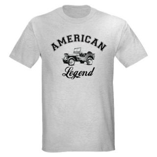 Legend Willys Willys Jeep MB WWII Vintage Classic Army T Shirt