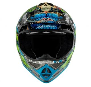 Troy Lee Designs Air Medusa Green/Black   ECE 2011