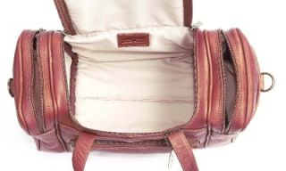 claire chase petite sport leather duffle bag