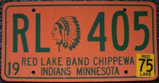 Red Lake Band CHIPPEWA Indian Tribe Minnesota 405