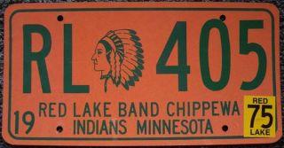 Red Lake Band CHIPPEWA Indian Tribe Minnesota 405