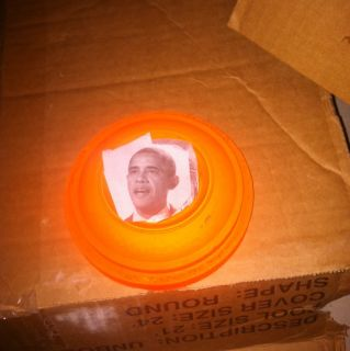 Obama Clay Pigeon set of 4